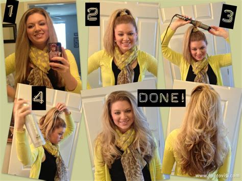 easiest way to get height on hair curling long hair made easy hair type stuff pinterest