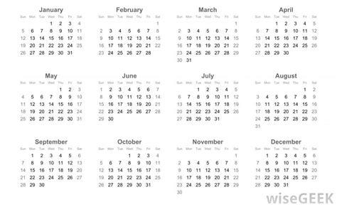 Gregorian Calendar What Is The Gregorian Calendar With Pictures