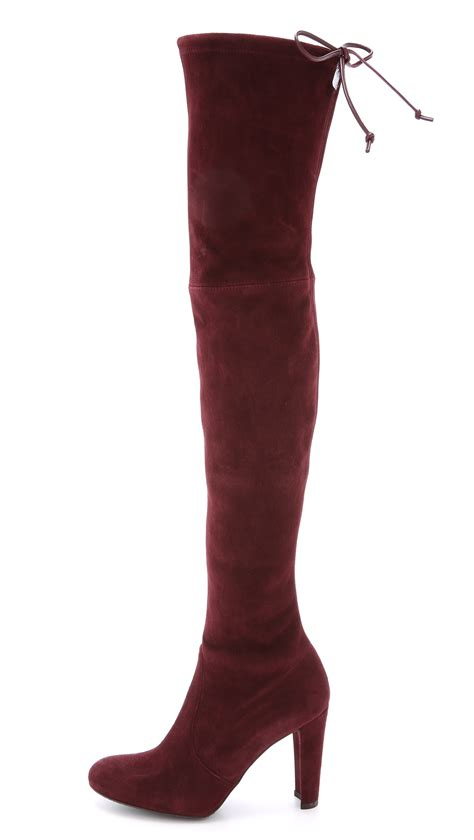 stuart weitzman highland the knee boots stuart weitzman highland the knee boots praline in