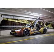Striking  Avery Rising Sun BMW I8 On Zito Wheels ZF03 Alu