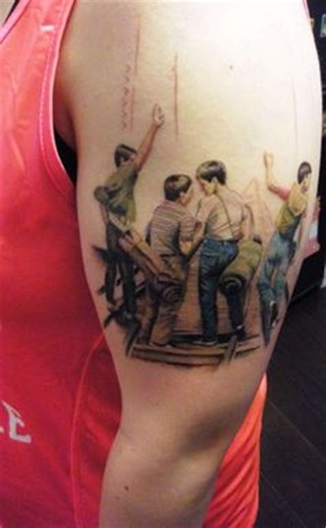 wil wheaton tattoo stand by be the best on river
