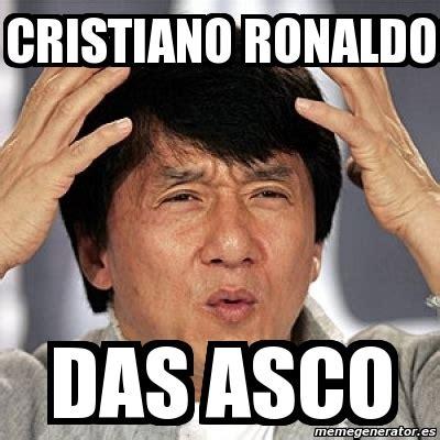 Memes De Cristiano Ronaldo - meme jackie chan cristiano ronaldo das asco 1196375