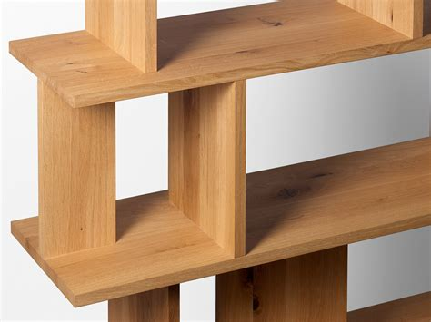 Oak Room Divider Shelves Buy The E15 Sh05 Arie Shelving System Oak At Nest Co Uk