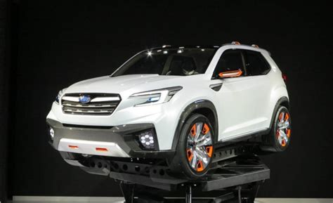 New Subaru Crossover 2018 by 2019 Subaru 3 Row Crossover Suv Review And Changes 2018