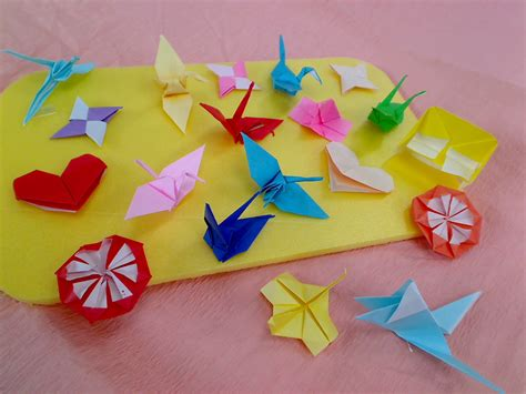 Japanese Paper Origami - fold your into paper with origami japanese