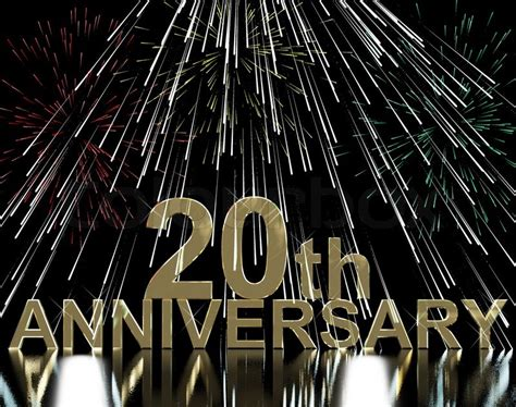 20th wedding anniversary ideas to celebrate gold 20th anniversary with fireworks for twentieth