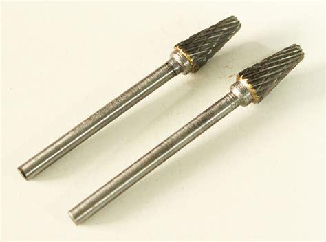 Carbide L by 2 Pcs Tungsten Carbide Cutter Rotary Burr Bit Cut