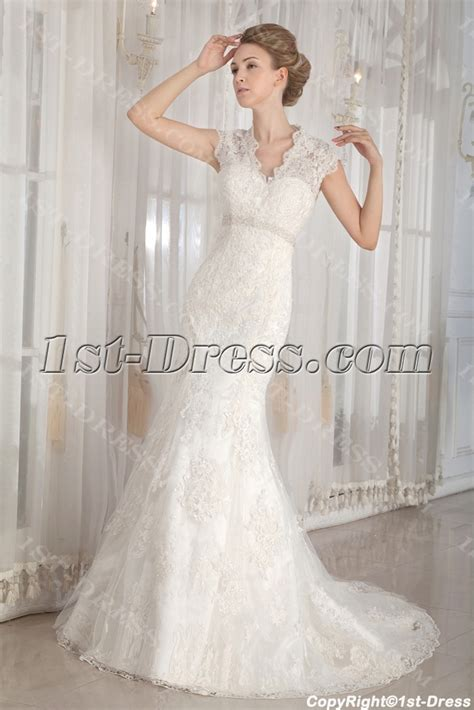 modest lace wedding dresses with sleeves modest lace illusion back wedding dresses with cap sleeves