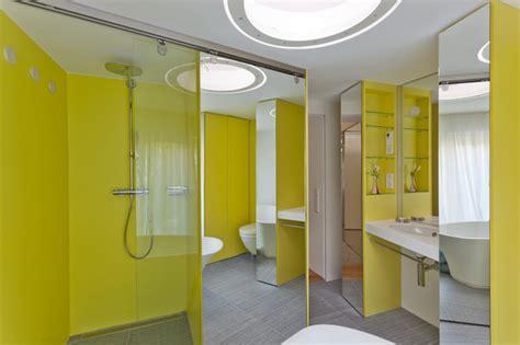 badezimmer kabinett entwürfe gelbes kabinett modern badezimmer frankfurt am