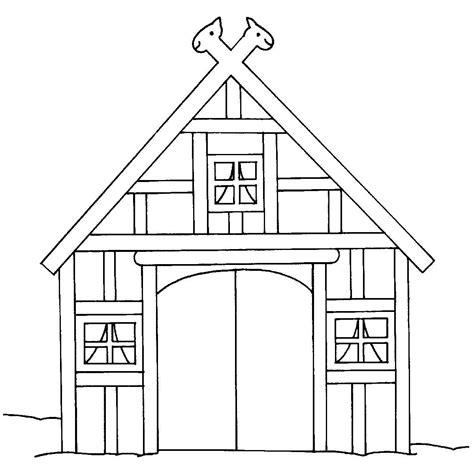 scheune malvorlage kostenlose malvorlage bauernhof scheune auf dem bauernhof