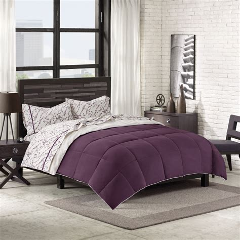 plum comforter cannon down alternative comforter plum home bed