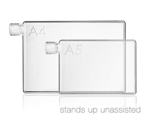 Memobottle Slim A5 Letter Reusable Water Bottles 450ml Botol Minum memobottle a4 a5 letter reusable water bottles by memobottle kickstarter