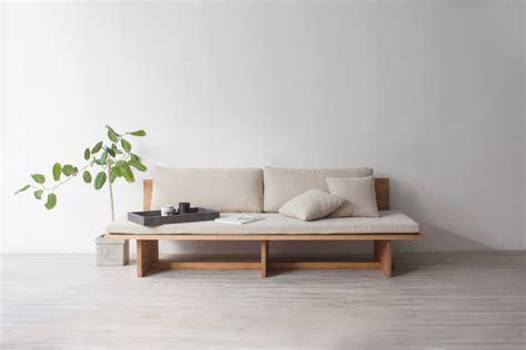 minimal furniture design blank sofa leibal