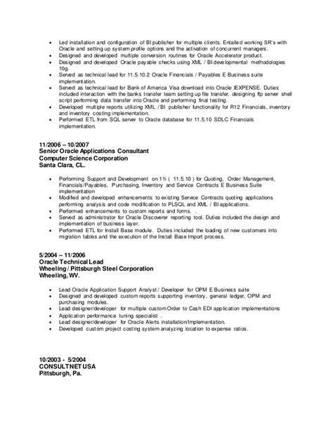 User Interface And Resume And Java Script And Not by Bi Publisher Resume Resume Ideas