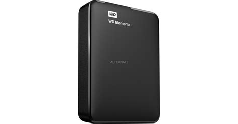 Wd Elements Portable 2 Tb Usb 3 0 wd elements portable 2 tb externe harde schijf zwart usb