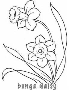 mewarnai bunga alamendah s