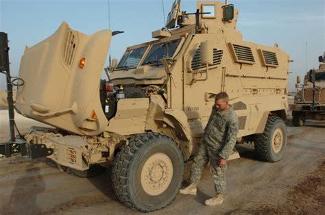 Hummer Husky Army mine resistant ambush protected mrap vehicle program