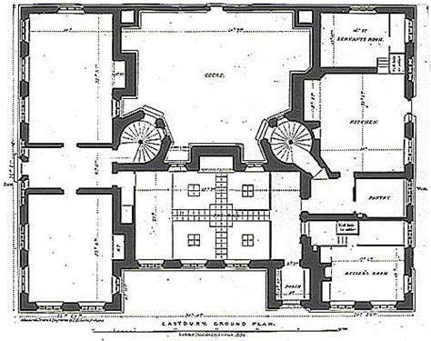 Georgian House Designs Floor Plans Uk by The Servant S Quarters In 19th Century Country Houses Like