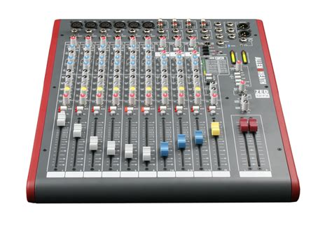Mixer Allen Heath 8 Chanel allen and heath zed 12fx 12 channel mixer with usb