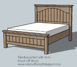 Farmhouse Bed Plans Ana White Farmhouse Bed With Arch Diy Projects