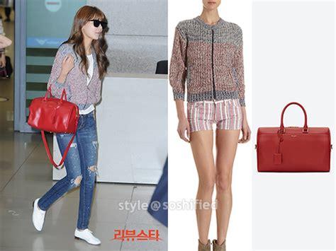 Yoona Satchel Small Black soshified styling snsd etoile marant yves