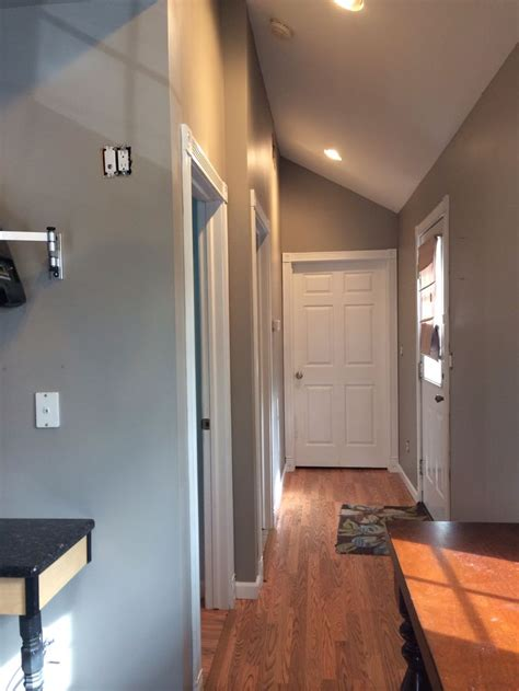 cabinet paint color is river reflections from benjamin moore beautiful warmer gray chelsea benjamin moore rivers and colors on pinterest