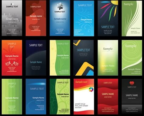 design background name card business card free vector download 22 407 free vector