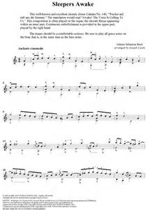 Sleepers Awake Piano by Johann Bach Sleepers Awake Sheet Onlinesheetmusic