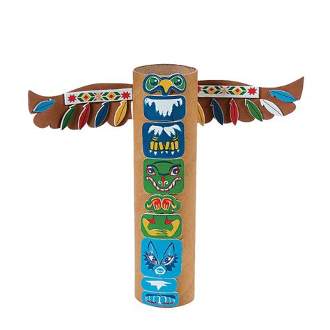 totem pole craft project 1000 ideas about totem pole craft on totem