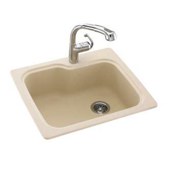 swanstone undermount kitchen sink swanstone kssb 2522 059 single bowl kitchen sink tahiti