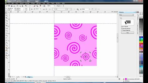pattern fill coreldraw x6 create seamless pattern coreldraw youtube