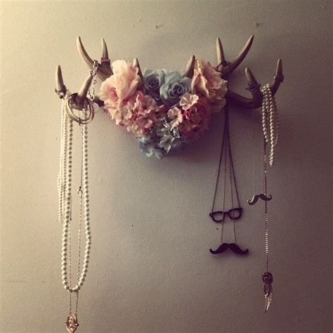 25 best ideas about antler jewelry holder on