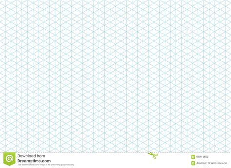 template isometric grid seamless pattern stock vector