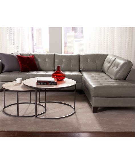 living room macy s living room furniture and superior arturo sectional leather living room furniture collection