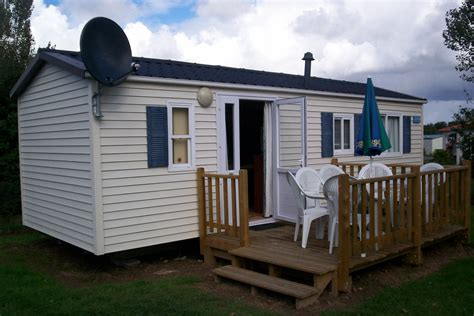 mini trailer house dark decks and porches for mobile homes view at the afternoon