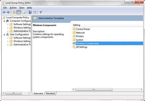 administrative templates speed up indexing in windows 7 disable windows 7 search