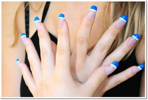 fingernail color 22 awesome tip nail designs