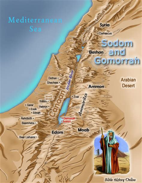sodom and gomorrah map ancient sodom and gomorrah background bible study bible