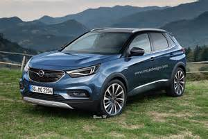 The Opel 2017 Opel Grandland X Rendering Is A Peugeot In Disguise