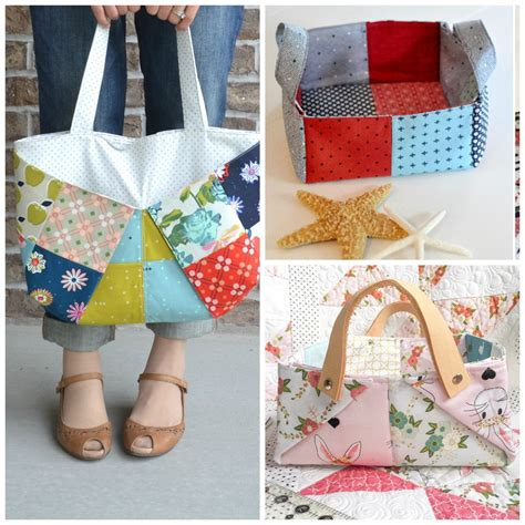 Patchwork Projects Free - three more inspiring patchwork projects sewcanshe free