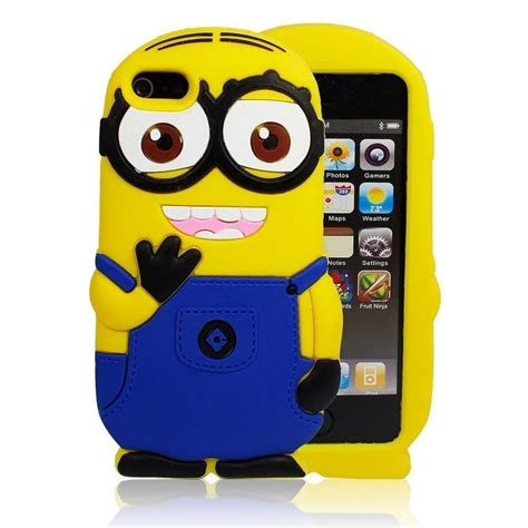 Iphone 5 5s Minion Despicable Me T1910 4 iphone 6 plus 6 5 5s 4 4s two eyed despicable me