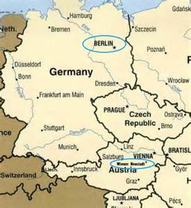 Germany Austria Map by Is Austria In Germany Map