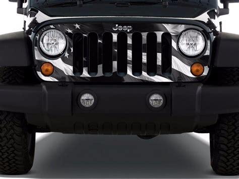jeep grill decal 2 jeep wrangler rubicon yeti edition yk jk xj kit stickers