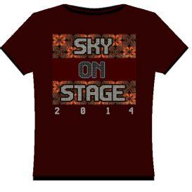 Kaos T Shirt Souvenirs Jepang Hitam merchandise sky on stage 2014 dvadasa laksmana adikara