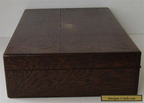 Box For Sale Oak Cutlery Box Vintage Empty Canteen Container Working