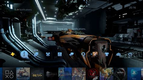 ps4 themes top ps4 gets two free dreadnought dynamic themes and they re
