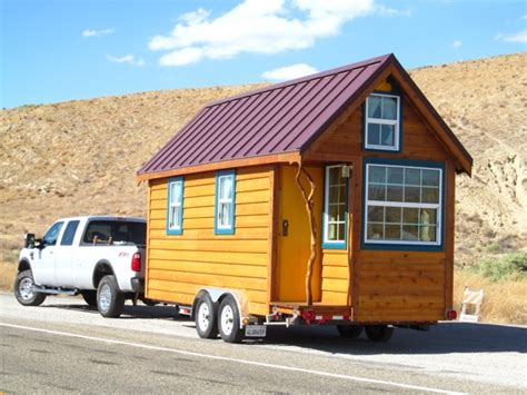 Tumbleweed Tiny House By Ella Jenkins Towing A Tiny House
