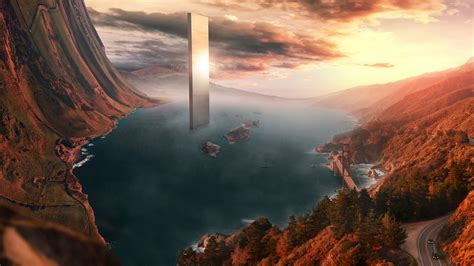 surreal landscape wallpapers hd wallpapers id
