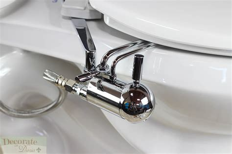 Best Bidet Attachment by Gobidet Bidet Attachment Chrome Universal Ez Install Non