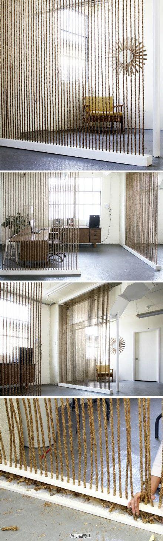 schlafzimmer privacy bildschirm beautiful rope room divider home